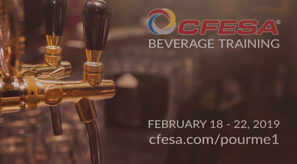 2019 CFESA Beverage Training Class