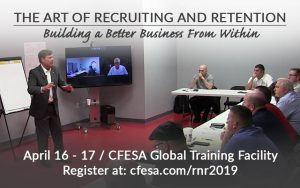 R&R Bootcamp / Employee Recruitment & Retention (April 2019) @ CFESA World Headquarters & Global Training Facility | Fort Mill | South Carolina | United States