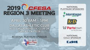 2019 CFESA Region 3 Meeting @ Dallas Athletic Club | Dallas | Texas | United States