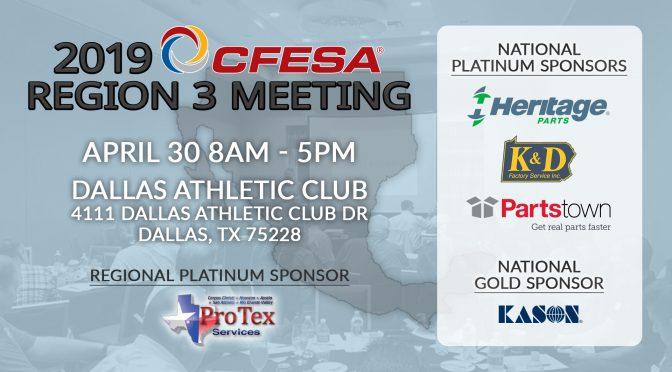 2019 CFESA Region 3 Meeting