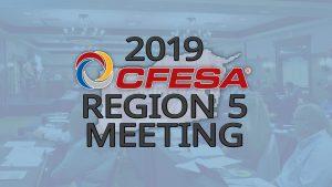 2019 CFESA Region 5 Meeting @ The Exchange | Dublin | Ohio | United States
